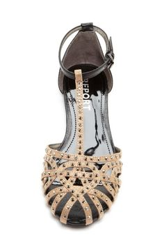 Got shoes like these fkr my girls and myself. They are just charcoal grey. Perfect with their dresses.