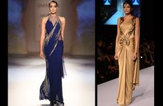 See different saree draping styles as worn by Bollywood actresses, including the half sari, lehenga saree, saree gown, pre-draped saree & one shoulder Saree Gown, Lehenga Saree, Sari, Saree Draping Styles, Drape Sarees, Durham Region, Saree Trends, Fundraising Events, Bollywood Actress