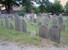 Old Burying Point Cemetery--a la Salem Witch Trials (Salem, MA)