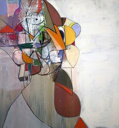 George Condo   Diagonal Portrait (2013)   Artsy