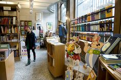 Brussels Belgian Comics Center Shop