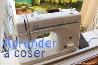 DIY, patrones, ropa de bebe y mucho más para coser.: APRENDER A COSER