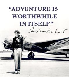 My idol amelia earhart quote Love Me Quotes, Great Quotes, Quotes To Live By, Life Quotes, Inspirational Quotes, Amelia Earhart Quotes, Quotable Quotes, Qoutes, Lectures