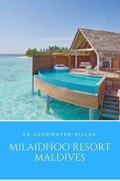 Maldives Water Villa, Overwater Bungalows, Resort Villa, Island Nations, Outdoor Furniture Sets, Outdoor Decor, Romantic Getaway, Resorts, Luxury