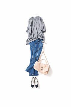 ジェンダーレスで女らしく / コーディネート詳細 / Kyoko Kikuchi's Closet   菊池京子のクローゼット [ K.K closet ]