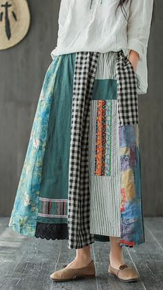 Sewing Clothes, Diy Clothes, Clothes For Women, Ropa Shabby Chic, Refashion, Clothing Patterns, A Line Skirts, Cool Outfits, Fashion Dresses