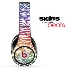 Colorful Zebra Print Skin for the Beats by Dre by TheSkinDudes, $19.99