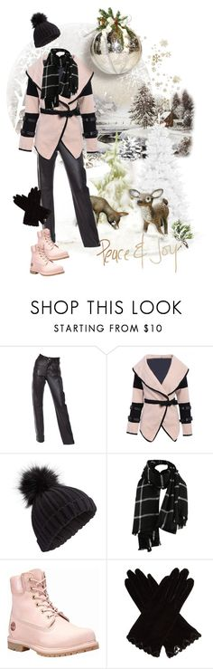 """ready to play on the snow"" by jaja8x8 ❤ liked on Polyvore featuring Helmut Lang, Miss Selfridge, Timberland and AGNELLE"