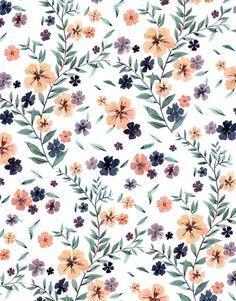 texture pattern floreal color