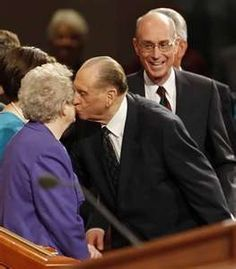 Forever love, President and Sister Monson. No seriously, FOREVER! No end. At all. Ever.