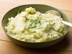 Mashed Potatoes with Olive Oil and Herbs #UltimateComfortFood