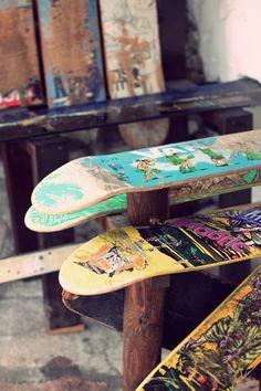 Learn to Skateboard! Skate Decks, Skate Surf, Skateboard Design, Skateboard Decks, Cruisers, Skate And Destroy, Surfboards, Skateboards, Street Artists