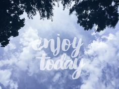 🌲Enjoy Today🌳 #trees #clouds #sky #enjoytoday #opacity #quote #dodgereffect #clipart #photography #edited #sweetbeeedits Image Stickers, Daily Pictures, Picsart, Trees, Clip Art, Neon Signs, Clouds, Quote, Sky
