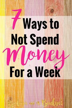 Have you ever had a no spend day or week? Ever told yourself you will not touch those credit cards? If you haven't, you should consider freezing your spending for a few days to save money. This article is sharing all the different ways you can save money and not spend money.