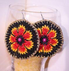 Earrings crochet from my boutique