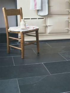 kitchen floor tiles Design ideas - rectangular slate tiles