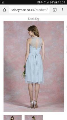 K R bridesmaid back