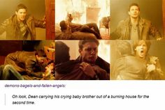 One day I will die from Dean Winchester feels