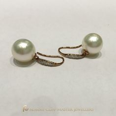 Surprise her with these stunning ‪#‎pearl‬ ‪#‎earrings‬ or tag him to drop a hint wink emoticon