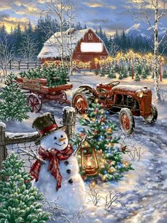 by dona gelsinger christmas tree farm christmas scenes christmas lights winter christmas
