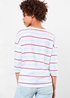 00a3baaea59 Gestreept shirt met een fotoprint van s.Oliver. Ontdek en bestel nu online  topactuele