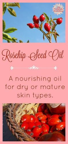 Make Your Own Nourishing, Natural Facial Serum The benefits of Rosehip Seed oil on the skin + a simple recipe to make your own . Natural Facial, All Natural Skin Care, Organic Skin Care, Natural Health, Natural Wrinkle Remedies, Homemade Moisturizer, Rosehip Seed Oil, Facial Serum, Beauty Recipe