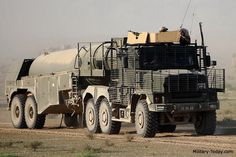 The Oshkosh wheeled tanker is one of the most mobile tactical tankers in the world