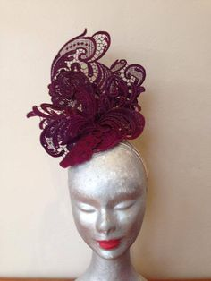 Stiffening Guipure Lace – How To Make Hats Millinery Classes | Hat Academy