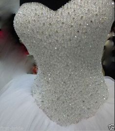 New White/Ivory  Wedding dress Bridal Gown Custom Size 6-8-10-12-14-16 | Clothing, Shoes & Accessories, Wedding & Formal Occasion, Wedding Dresses | eBay!