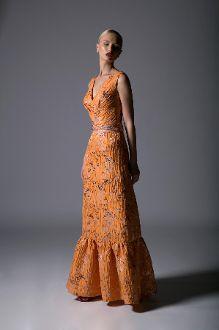 15ba0fb83e Divina by Edward Arsouni Sleeveless Jacquard Evening Gown SS 0359 Women's  Runway Fashion, My Boutique