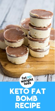 These cheesecake fat bombs are super delicious. In this recipe, I'll show you how to create a fat bomb that is actually enjoyable to eat and doesn't just taste like coconut or butter. I devoured the whole batch within a week, so I'm guessing that's a good sign! #ketofatbomb #ketodesserts Sugar Free Desserts, Sugar Free Recipes, Low Carb Recipes, Keto Desserts, Easy Recipes, Cheesecake Fat Bombs, Keto Cheesecake, Keto Fat, Low Carb Keto