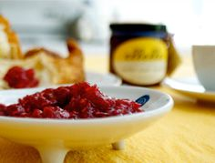 Meyer Lemon Jam with Rosemary