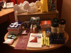Things we put in our Cruise Wedding OOT Bags