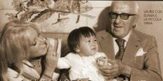 Eliana, Achille Lauro and their daughter Tania.