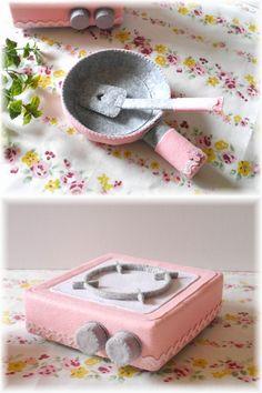Я чувствовал себя сделал розовый кухонный набор ♪ изображение 1