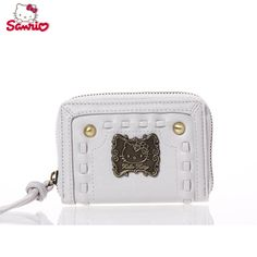 Hello Kitty woven series of short Purse - Hello Kitty Purse - Hello Kitty Stores :: BeardBrother Hello Kitty Purse, Sanrio, Cosmetic Bag, Fashion Bags, Shoulder Bag, Wallet, Purses, Handbags, Toiletry Bag