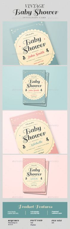 Baby Shower Free Flyer Template  HttpFreepsdflyerComBaby