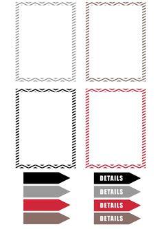 DIGITAL SCRAP: Labels Print