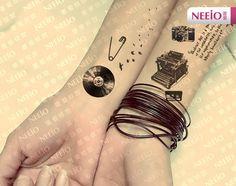 typewriter tattoo - Cerca con Google                              …