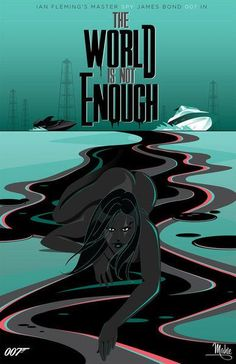 James Bond Mahle | James Bond The World Is Not Enough art by Mark Mahle