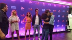 Valentina, Karol, Michael e Ruggero