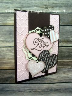 I have a beautiful card for you today. This card is one of the February Free Card Packets as well! I love this color combination and how e...