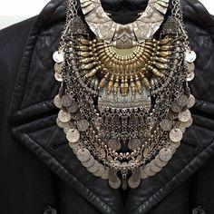 Silver Tibetan jewelry