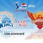 IPL 8 Match Score