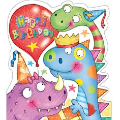 Dinosaur Happy Birthday!