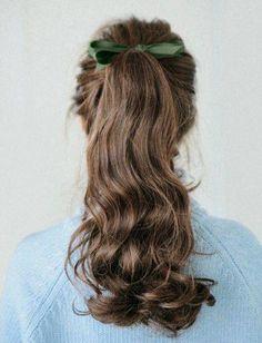 Bad Hair Day, Vintage Hairstyles, Pretty Hairstyles, Hair Inspo, Hair Inspiration, Aesthetic Hair, Grunge Hair, Hair Dos, Curly Hair Styles