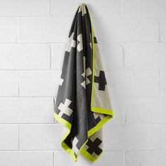 Aura crosses bath towel $49 - Perch Home
