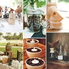 Você e seu noivo amam café? Então têm que caprichar na mesa para o casamento!
