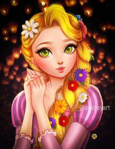 fuck yeah disney fanart/ Es rampuncel 😍Me encanta es súper bonitaa y muy monas❤️😍😍❤️❤️ Anime Disney Princess, Manga Disney, Rapunzel Disney, Disney Princess Fashion, Disney Princess Drawings, Princess Rapunzel, Disney Girls, Disney Drawings, Disney Pixar