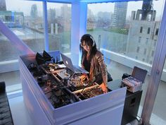 DJ Dina Regine @ The New Museum of Contemporary Art in NYC
